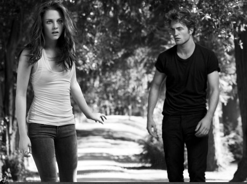 Kristen Stewart ja Robert Pattinson fotoshoot